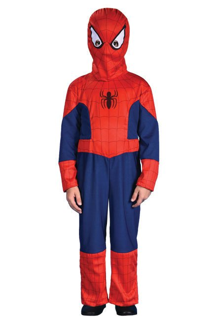 Disfraz Spiderman Rojo Azul Red De Guerreros Marvel