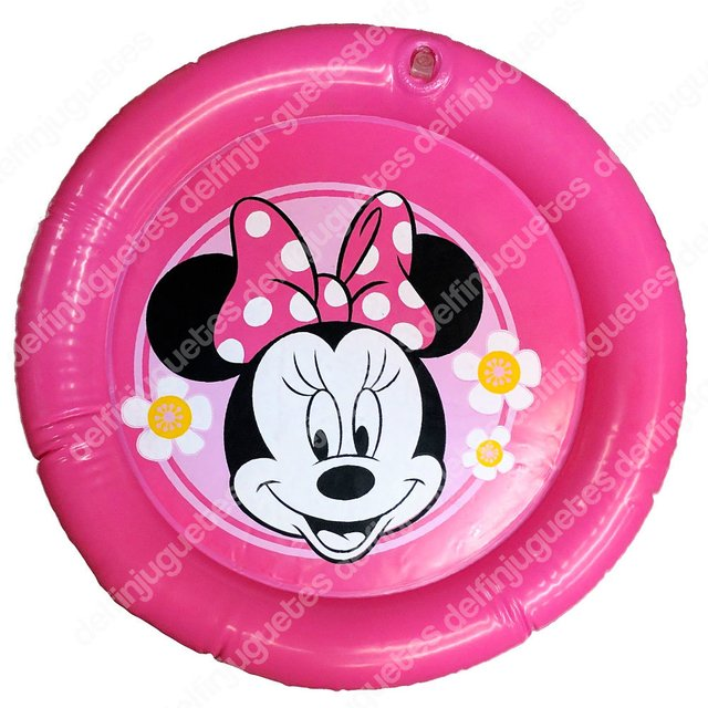 Disney Minnie Mouse Toodles Cilindro Inflable Cascabel Bebés en internet