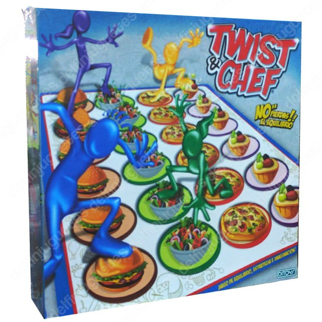 Ditoy's Twist & Chef Juego Simil Twister N'reda2