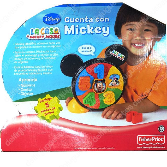 Fisher Price Disney Mickey Mouse Cuenta Con Mickey - comprar online