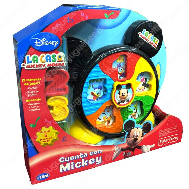 Fisher Price Disney Mickey Mouse Cuenta Con Mickey