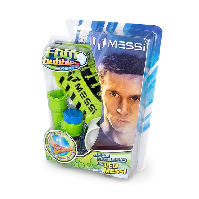 Messi Foot Bubbles Medias Jueguitos Burbuja Original Tv