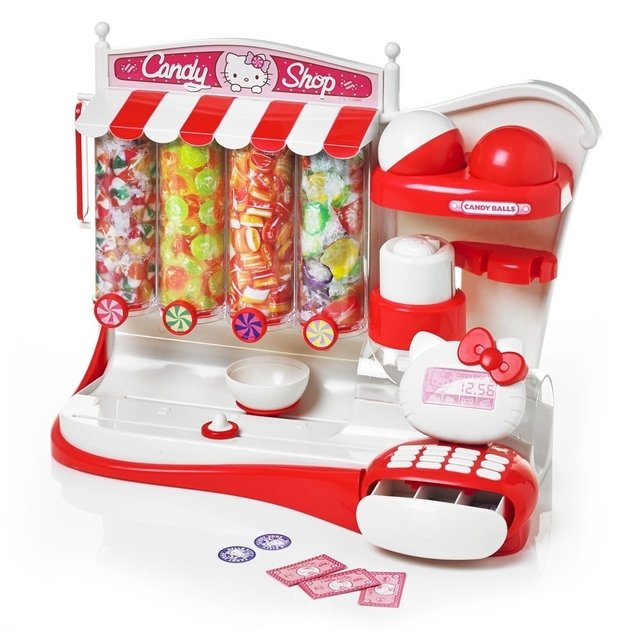 Hello Kitty Candy Shop Con Caja Registradora
