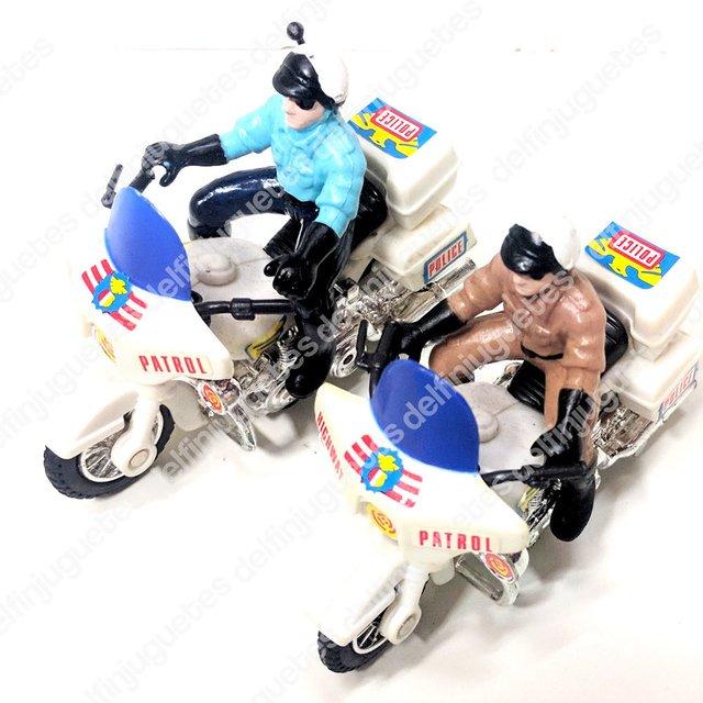 Fricción Policía Juguete A Miniatura Moto De WEQxrCodeB