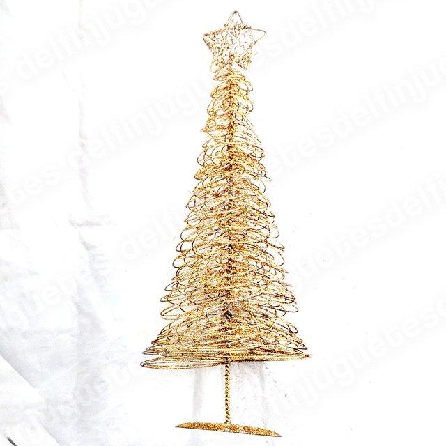 87417ff17c9 ... NAVIDAD MINI ARBOLITO DE 40 CM de altura brillo dorado cobre plata  bronce decoracion diseño morph ...