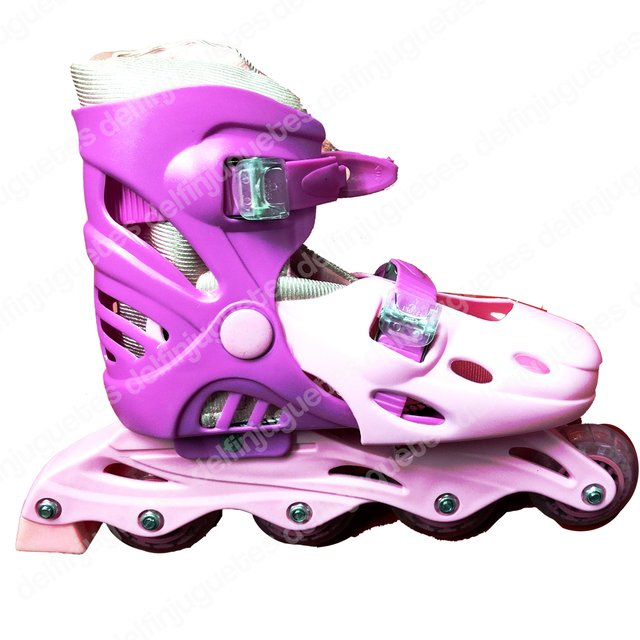 Patines Roller Extensibles 39-42 Rosa
