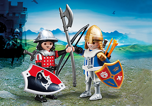 Playmobil Caballeros 5166 Knights Duo Pack - comprar online