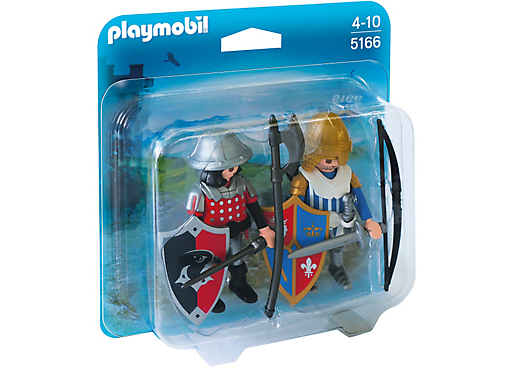 Playmobil Caballeros 5166 Knights Duo Pack