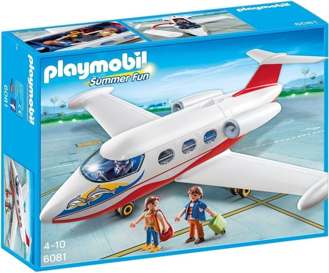 Playmobil Summer Avión Jet 6081
