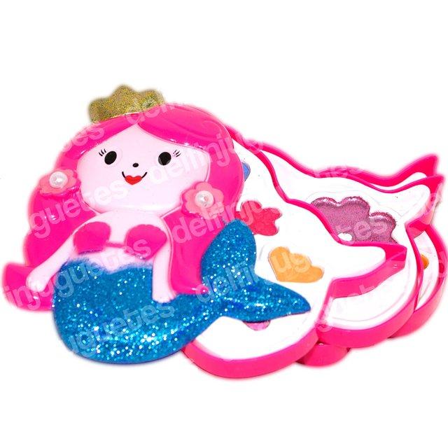Muñecas Maquillaje 3 Princesas Sirenita Set Estuche Pisos Y Disney Pupa Belleza La Juguetes Iniciogt; Accesorios ARLj354q