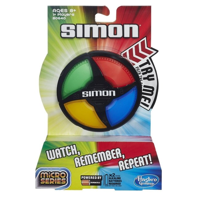 mini simon micro series simon dice simon says delfin juguetes hasbro