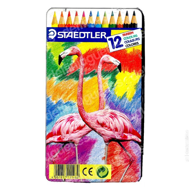 Staedtler Germany Pack 12 Lapices DELFIN Juguetes