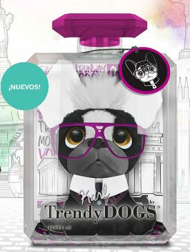 Trendy Dogs Perro Peluche Perfume Bulldog Frances Karl Intek