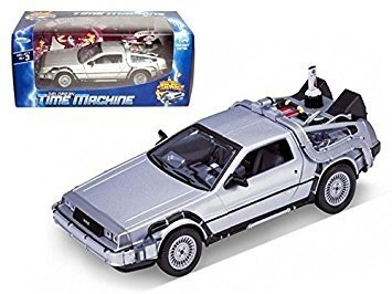 Welly Back To The Future Auto Delorean Volver Al Futuro 1:24