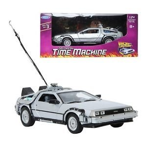 Welly Back To The Future Auto Delorean Volver Al Futuro 1:24 - comprar online