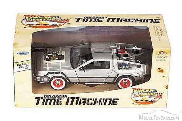 Welly Back To The Future Auto Delorean Volver Al Futuro 1:24 en internet