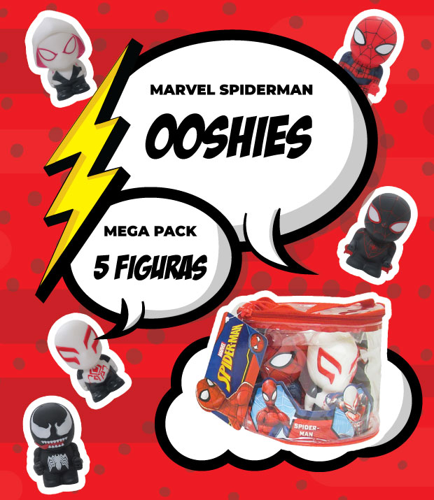 Spiderman Ooshies