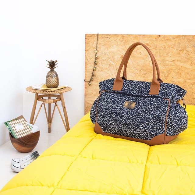 Bolso Cata Print Azul - Happy Little Moments