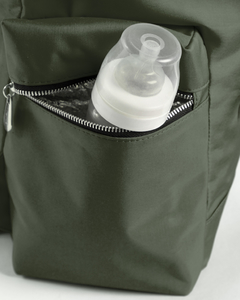 Mochila Jazmin Verde Militar OUTLET - Happy Little Moments