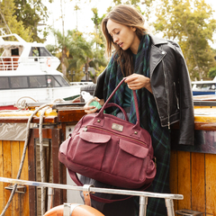 Bolso Caroline Bordeaux - Happy Little Moments