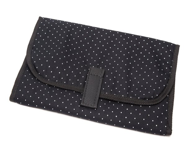 Bolso Cata Negro Pintitas Blancas - Happy Little Moments