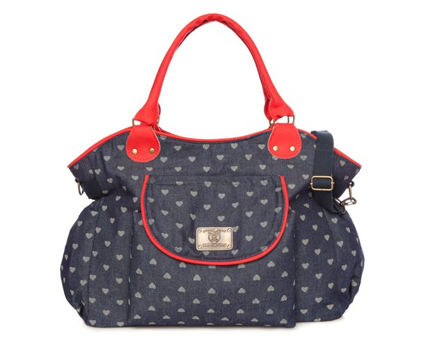 Bolso Michelle Denim + Rojo