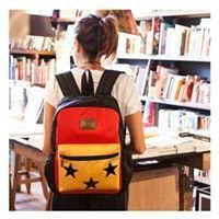 Mochila Rachel Roja + Amarillo - Happy Little Moments