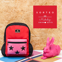 Mochila Rachel Roja + Rosa - Happy Little Moments