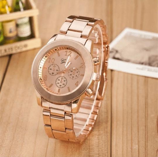 dfd4d1f2494 Relógio Geneva Rose gold - Comprar em RL acessórios