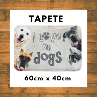 Tapete Corttex Gran Pet 60 x 40 cm,dog f...