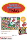 TAPETE +BRINQUEDO DO MICKEY,DISNEY