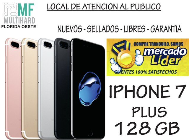 Apple Iphone 7 Plus 128gb 12mp 5.5 Nuevos - Sellados - Gtia en internet