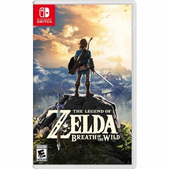 The Legend Of Zelda: Breath Of The Wild | Nintendo Switch | Fisico |