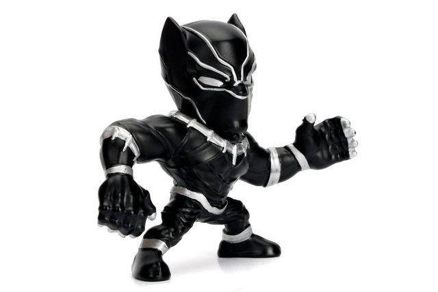 Figura Black Panther Marvel Metal Die Cast 10cm Original Usa - comprar online