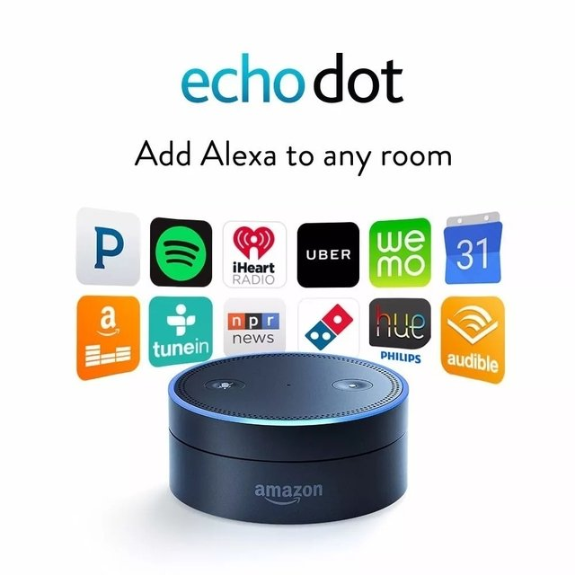 Amazon Echo Dot 2da Generación. en internet
