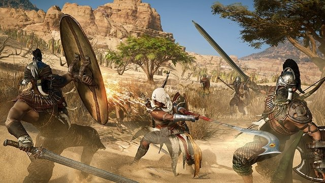 ASSASSIN'S CREED ORIGINS PS4 NUEVO, SELLADO en internet
