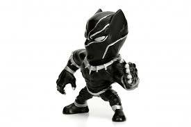 Figura Black Panther Marvel Metal Die Cast 10cm Original Usa en internet
