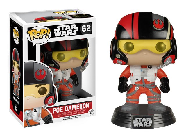 FUNKO POP POE DAMERON Nº 62 en internet