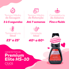 Elite HS-10 10ml + Removedor Premium Gel 15ml - comprar online