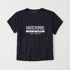 Remera Abercrombie & Fitch navy