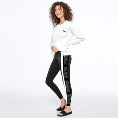 Leggings PINK con linea lateral