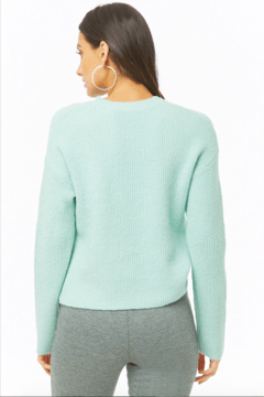 Sweater MINT forever21 en internet