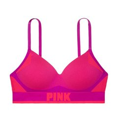 Corpiño PINK sin costura push up Berry - comprar online