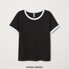 Remera black & white de H&M