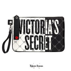 Clutch black & white ecocuero VICTORIA´S SECRET