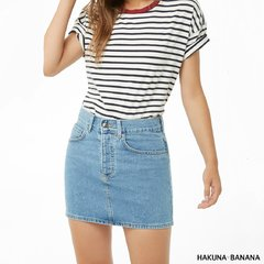 Pollera Denim basic de Forever21