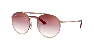 RAY BAN 3614N 9140T 54 ROUND BLAZE DOUBLE BRIDGE