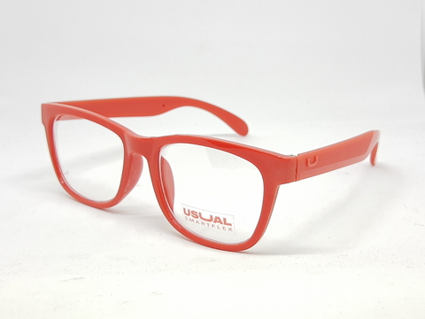 Usual 021 Rojo + Clear Blue