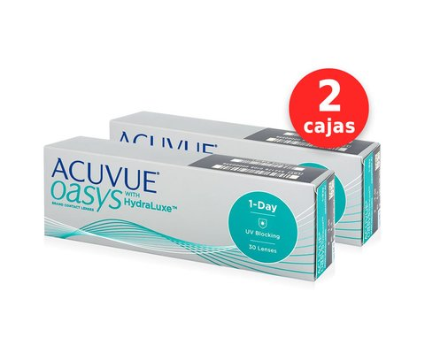 Acuvue Oasys One Day x 2 cajas (60 lentes)