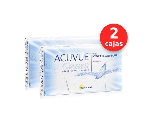 a499dba592df7 Acuvue Oasys x 2 cajas (x 12 lentes) - Tecni-Optica